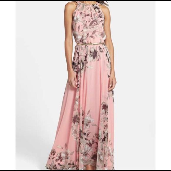 Eliza J Dresses   Halter Dress   Poshmark